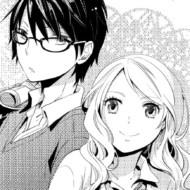 オリジナル少女漫画キャラクター[白黒版]